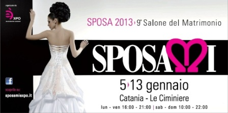 5/13 gennaio 2013.Ufficiale la data della 9° edizione di Sposami!