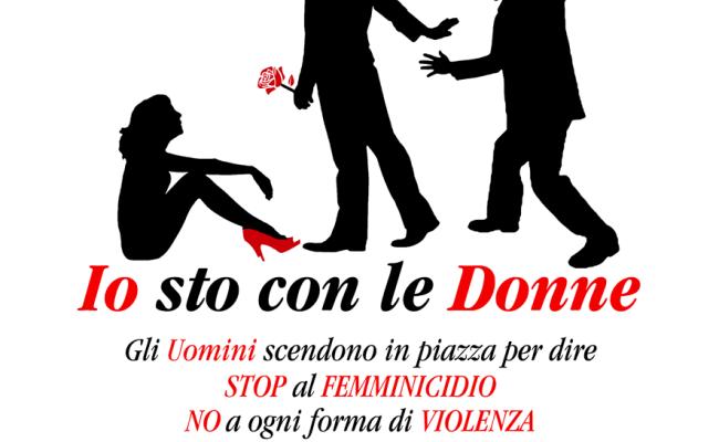 """""""IO STO CON LE DONNE""""- Luxury Press """"scende in piazza"""" contro il femminicidio"""