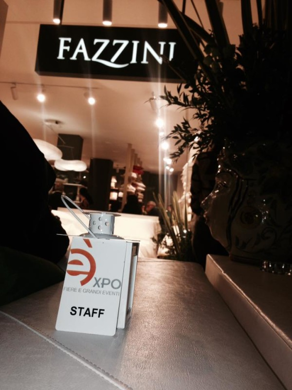 FAZZINI HOME COLLECTION: L' OPENING PARTY CURATO DALLA EXPO